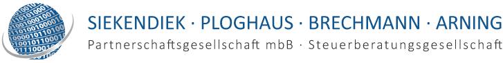 Steuerberatungsgesellschaft Siekendiek, Ploghaus, Brechmann, Arning Part mbB Logo